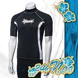 Ascan LYCRA Shirt Style black KURZARM Neu! UV-Schutz SURF KITE WAKE, L
