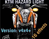 #3: Motoway PnP Hazard Light/Flasher V4×4 V16n For KTM Duke 250 .