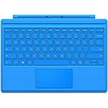Microsoft  QC7-00056 - Funda con teclado para Surface Pro 4, color azul claro