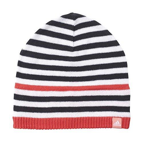 adidas Stripy Mütze–Für Kind, mehrfarbig, Stripy Beanie, Multicolor (Negro/Blanco/Alegrí/Rosray), OSFB