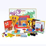 Learning Toys for Kids - Japan Activity Box from Globetrotters - Little Explorers (4-6 years)