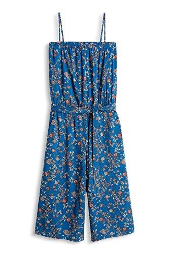 edc by ESPRIT Damen Jumpsuits Mehrfarbig (TEAL BLUE 455)