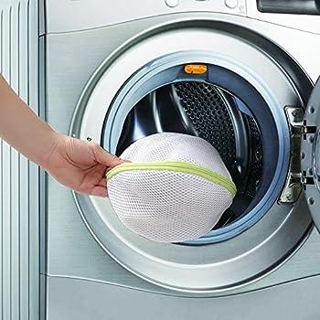 Comsun Wäschenetze Set, Premium Wäschebeutel, Wäschesack, Wäschetasche Mit Reißverschluss, Ideal Für Für Waschmaschine, Wiederverwendbar (Weiß) 4