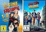 Fünf Freunde - DVD / Film 1-5 (Box 1-4 + 5) im Set - Deutsche Originalware [5 DVDs]