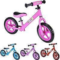 boppi® Bicicleta sin pedales de metal para niños de 2-5 años - Blanca