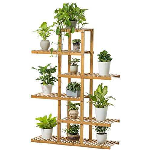 6 Tiers Bambou Fleur/Plantes/Étagère Jardin Plante Affichage pour Plantes  Fleur Pot Étagères Support Rack Combinaison Jardin Étagère pour ...