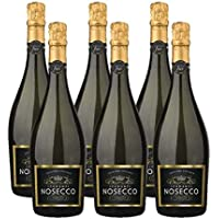 Nosecco Alcohol Free Sparkling Wine, 75 cl (Case of 6)