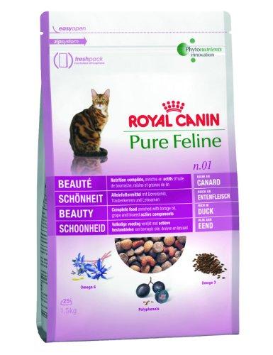 Royal Canin Feline Pure No. 1 - Schönheit 300 g (Leinsamen-borretsch-Öle)