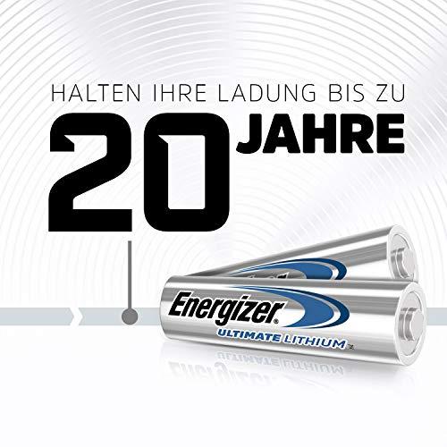 Energizer Batterie Lithium Mignon AA (1,5Volt 4er-Packung) - 4