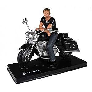 Johnny Hallyday - Figurine Johnny Hallyday Moto