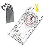 SUNSHINETEK Explorer Navigation de Boussole Lecture de Carte Navigation avec lanière...