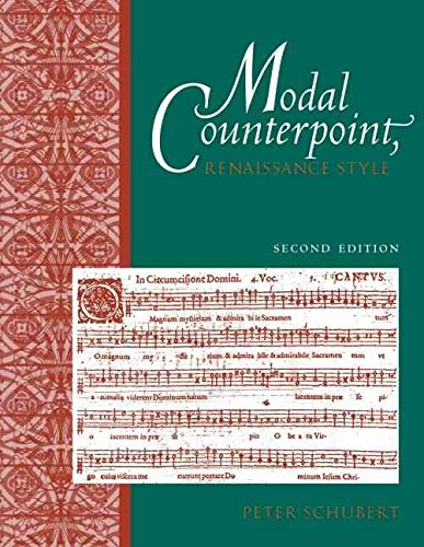 [Modal Counterpoint: Renaissance Style] (By: Peter Schubert) [published: December, 2007]