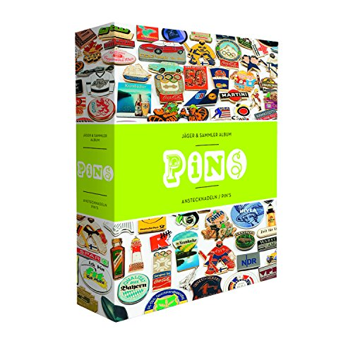 LEUCHTTURM Pin-Album Inkl. 4 samtbezogene Pintafeln | Ideales Sammelalbum für Anstecknadeln (Pin-album)