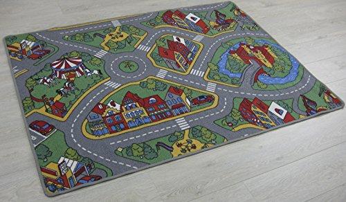 Alfombra de juegos para niños Raduno 140 x 200 cm 80 x 120 cm 90 x 200 cm 120 x 160 cm 95 x 200 cm 200 x 300 cm 200 x 400 cm 133 x 175 cm, dessin (140 x 200 cm )
