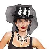 Best Disfraces de Halloween para las mujeres Dreamgirl - Dreamgirl–10005–Disfraz de Sra. Huesos sombrero, un tamaño Review