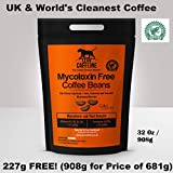 Lean Caffeine Bulletproof Coffee Beans 908g | Pesticide & Mycotoxin Free Upgraded Coffee Beans 908g
