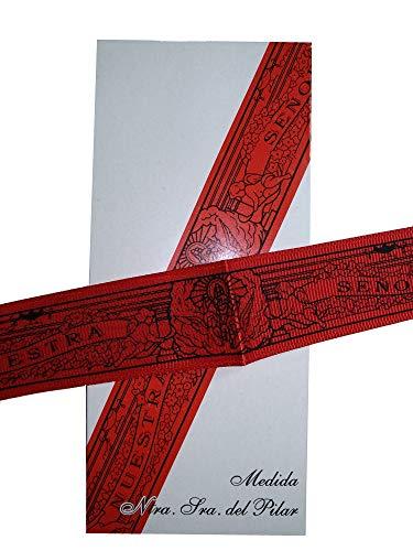 DRW Cinta Virgen del Pilar (Roja)