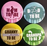 Madcaps Baby Shower Badges Set 1