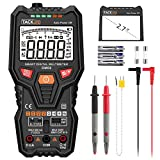 Tacklife DM06 Premium Digital Multimeter Vollautomatisches Multimeter mit 6000 Counts