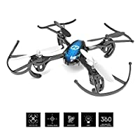 Holy Stone Predator Mini RC Quadcopter Drone 2.4Ghz 6 Axis Gyro R/C Serie 4 Channels RTF Helicopter HS170 Best Choice for Kids and Beginners from DeeRC