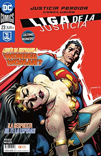 Liga de la Justicia núm. 78/ 23 (Liga de la Justicia (Nuevo Universo DC)) por Christopher Priest