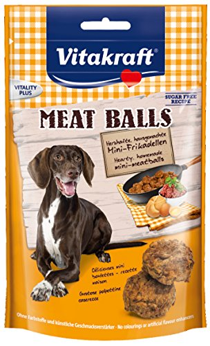 Vitakraft 31000 Hundesnacks Meat Balls, 80 g