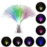 LED Fiber Optic Nachtlicht-Lampen Schöne Fiber Optic Lichtfarbe für Home Living Interior Design