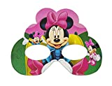 MY PARTY SUPPLIERS 6 pcs Minnie Mouse Party Eyewear / Kids Glasses Frame Kids Birthday Gift Paper Glasses Baby Shower Party Decorations / Minni Goggles ( Set of 6 )