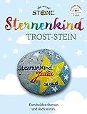 The Art of Stone STERNENKIND TROST-Stein - für trauernde Eltern - Motiv 2 - Mut und Trostspender zugleich