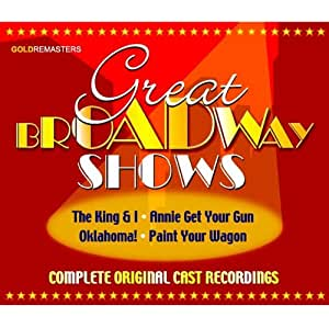 Great Broadway Shows [Import anglais]