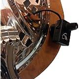 RECOGIDA TRICONE CUELLO REDONDO RESONATOR GUITARRA con cuello flexible MICRO - GOOSE por Myers Pastillas ~ verlo en acción ! Copiar y pegar: myerspickups.com