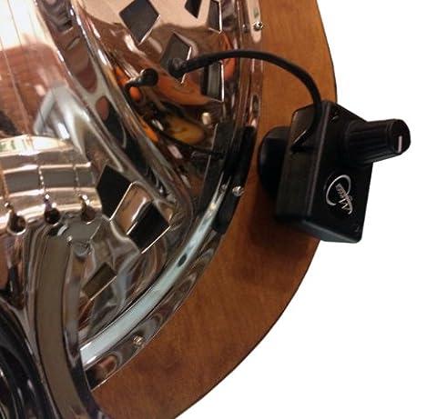 VINTAGE SQUARE NECK Resonatorgitarre PICKUP mit flexiblen MICRO- Schwanenhals von Myers Pickups ~ In Aktion sehen ! Kopieren und Einfügen : myerspickups.com