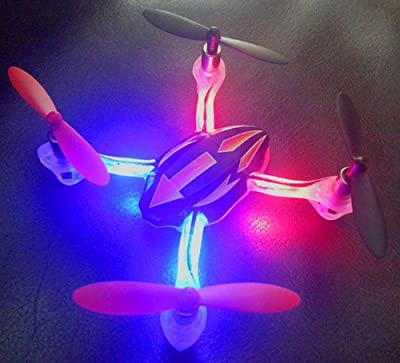Turbo Drone Quadcopter - Awesome Indoor / Outdoor Quadrocopter - Do 360° Flips! by Thinkgizmos.com