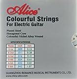 Colorée cordes - 535C jeu de cordes pour guitare électrique