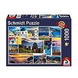 Schmidt Spiele Puzzle 58338Mach Veces Vacaciones en Grecia, 1000Piezas