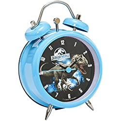 "Joy Toy 65452 8 cm ""Jurassic World Indominus Rex Metal"" Analog Clock in Gift Wrap"