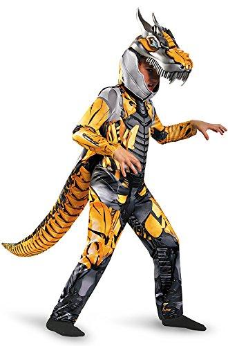 s Age of Extension Grimlock Deluxe Boys Costume, 4-6X (Transformers Halloween-kostüm)