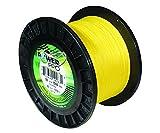 Power Pro línea de pesca 33400500500Y Maxcuatro trenzado, 50 lb / 500 yd, amarillo de alta visibilidad