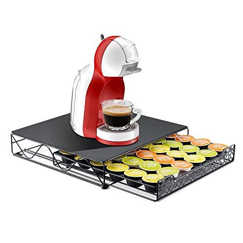 Recaps cassetto porta capsule per caffè compatibile con nescafe dolce gusto memorizza 36 cialde