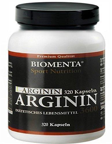 Biomenta-L-Arginin-hochdosiert-mit-913-mg-L-Arginin-Aminosure-Pulver-je-Kapsel-reines-Arginin-ohne-Zustze-fr-aktive-Frauen-und-Mnner