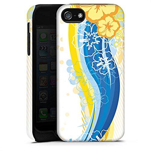 Apple iPhone 4 Housse Étui Silicone Coque Protection Fleurs Fleurs Printemps Cas Tough terne