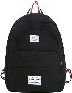 Harajuku Taschen Studentin Rucksack minimalistisch und