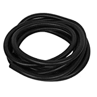 """0.8"""" OD Spiral Wire Conduit Bellow Corrugated Tube Tubing 6M 20Ft"""