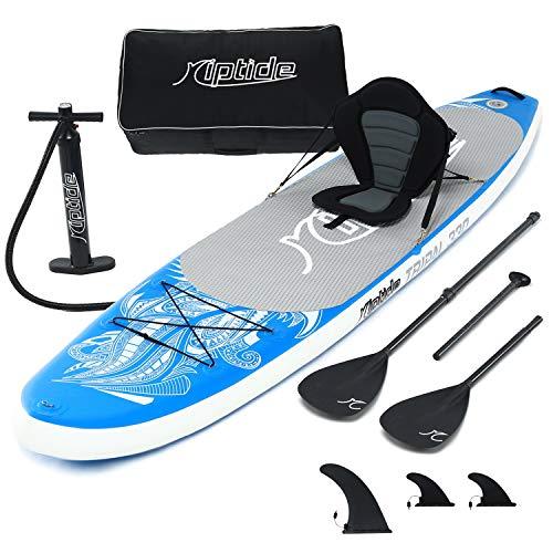 riptide Aufblasbares Stand Up Paddle (SUP) Board-Set TRIPAL 330cm mit Kayakfunktion