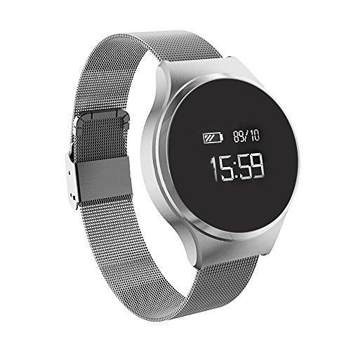 Fitness-armband Fitness Tracker pulsmesser Mit Aktivitätstracker,Stoppuhren,Schrittzähler,Blutdruckmesser,Kalorienzähler, Entfernungs-Rechner, Schlaf-Monitor und Sport-Uhr Für Android iOS Telefon