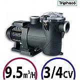 Bomba piscina–Discovery 3/4CV Tri 9.5M³/h–Astralpool