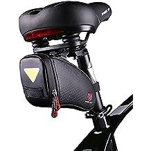 pioneeryao sillín Bolsa consolador con arnés para bicicleta bolsa bajo el asiento paquetes bolsa de asiento