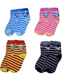 4 Pair of Warm Baby Socks for Baby Boys and Girls