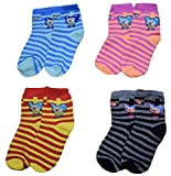 Generic Baby Boy's and Baby Girl's Fleece Cotton Warm Socks (Multicolour, 1-2 Years)