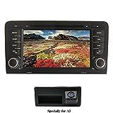 XISEDO Android 7.1 Autoradio 2 Din In-dash Car Radio 7' Car Stereo RAM 2G Navigatore GPS con Schermo di Tocco e Lettore DVD per Audi A3 2003-2011